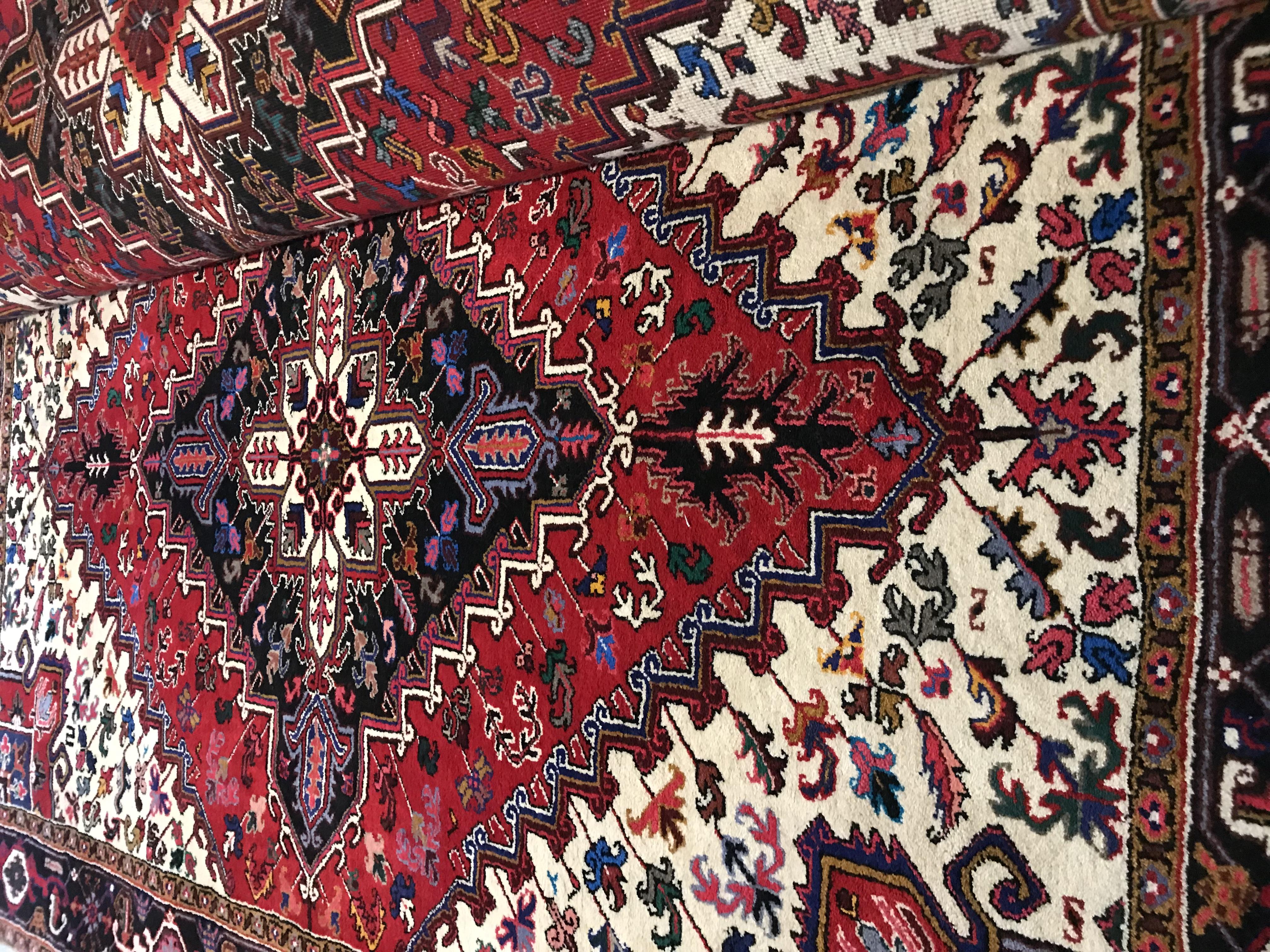 فرش زرنق مهربان جفت ۶ متر نوي نو